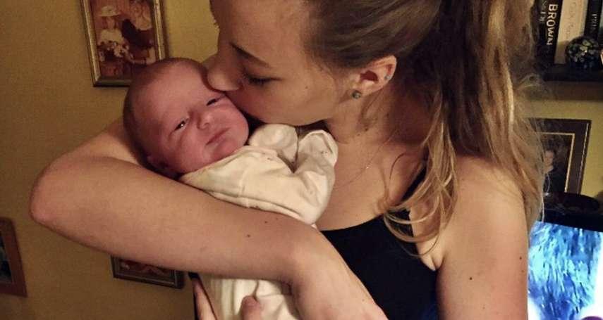 英國女子自述神秘懷孕奇事:孩子出生那一刻,我才知道自己懷孕