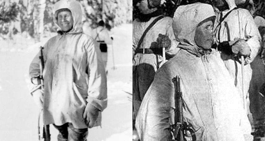 不用瞄準鏡450公尺外殺敵,一把舊步槍狙擊五百多人…他是讓蘇聯聞風喪膽的「白色死神」