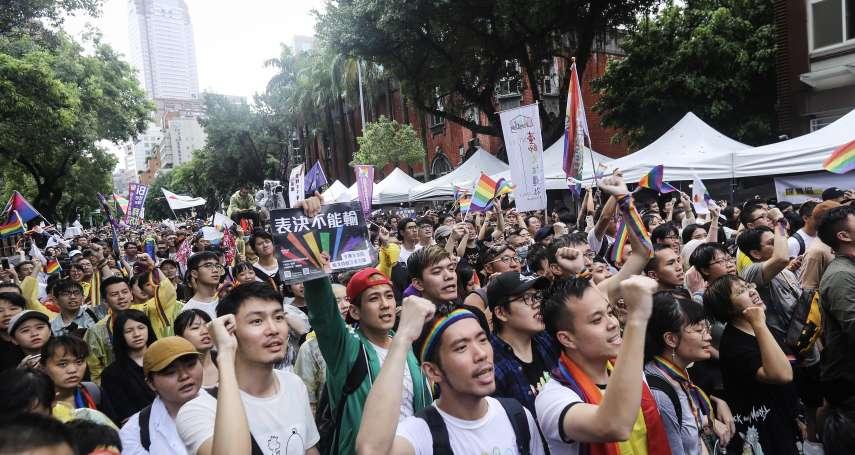 台灣民意基金會民調》蔡英文支持度明顯回升 游盈隆:關鍵在同婚立法