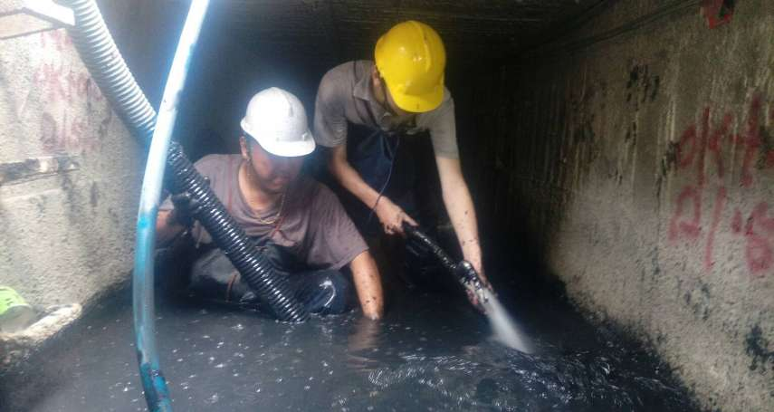 強化雨水下水道巡檢及清疏 高市水利局加強防洪準備