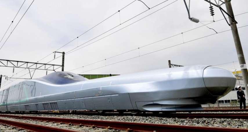 日本研發下一代新幹線「ALFA─X」360公里時速挑戰世界記錄!