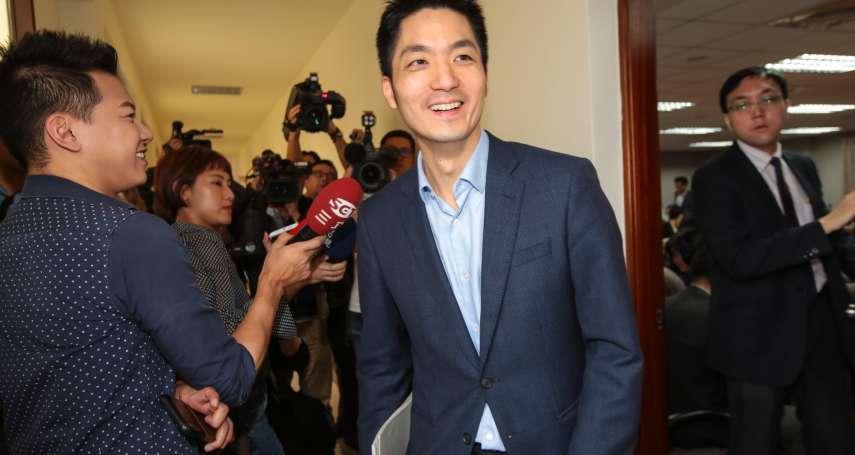 蔣萬安讚吳怡農「很帥」:因「顏值」讓選區受到外界關注,也是好事