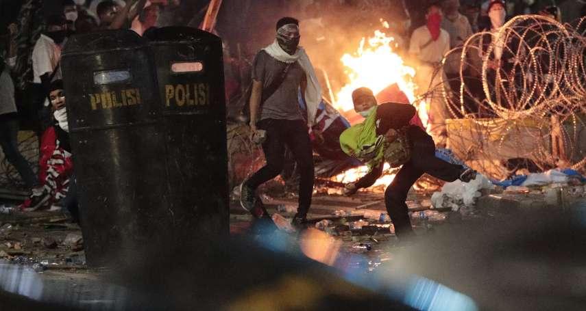 印尼總統大選結果爆血腥衝突!多處著火、槍聲不斷…雅加達街頭暴動 佐科威總統:絕不容忍破壞國家團結的人!