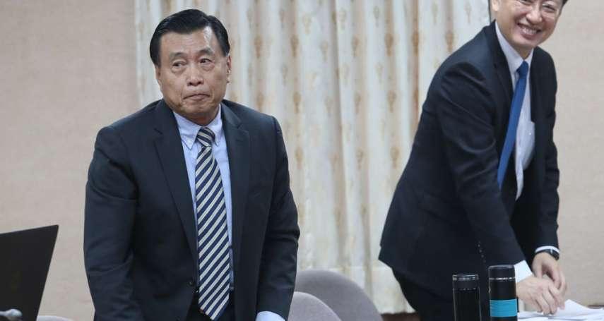 新新聞》國安局長彭勝竹國會愛蹺課,藍綠立委森77