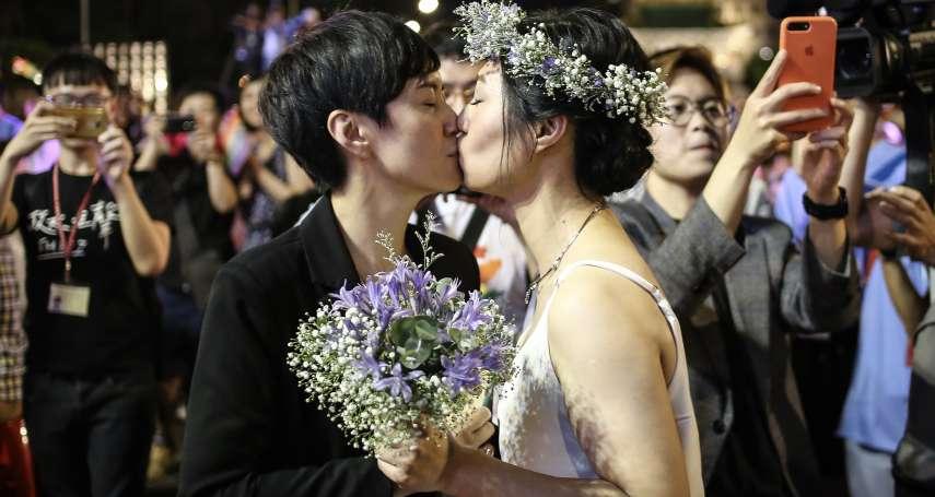 「同志藉著能成功結婚,讓社會越來越好!」凱道席開百桌慶同婚,名導演王小棣任證婚人:這已不只是我的見證