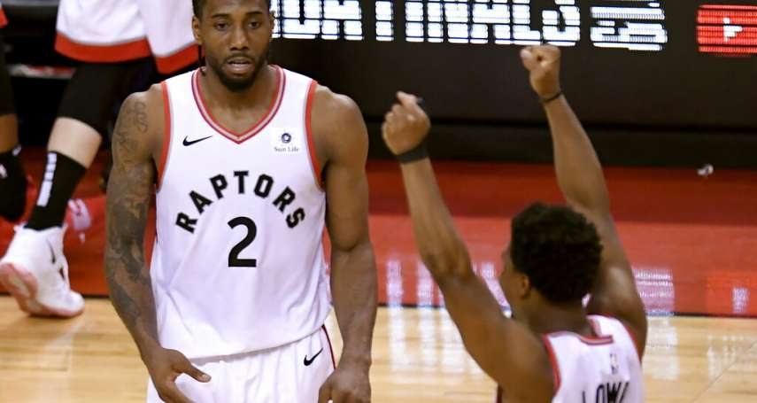NBA季後賽》暴龍逆轉擒公鹿 將與勇士爭總冠軍