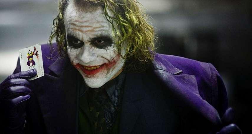 DC經典「小丑妝」有眉角!公開電影化妝師神乎其技:大刀疤、嗑藥臉這樣畫出來