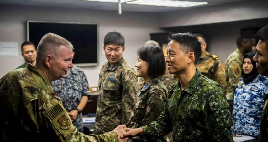 揭仲專欄:兩個值得關注的台美軍事交流動向