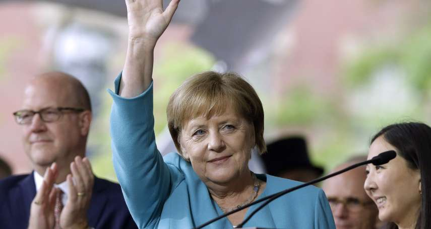 「牆擋得了我的路,卻擋不住我的夢想」德國總理梅克爾演說暗諷川普 哈佛畢業生歡聲雷動,三度起立鼓掌