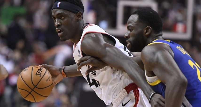 NBA總冠軍賽》席亞康攻下季後賽生涯新高32分 暴龍擊敗勇士拔頭籌