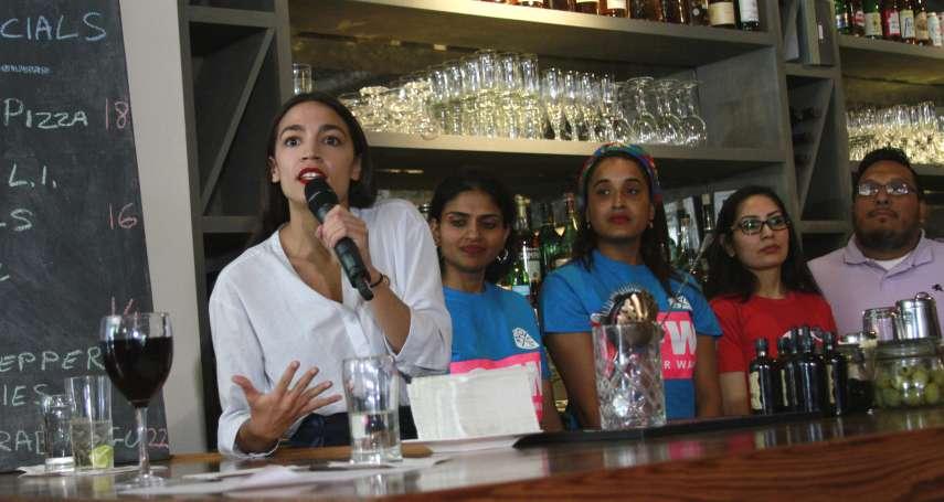 提倡公平工資 民主黨新星奧卡西歐─寇特茲重操舊業當酒保
