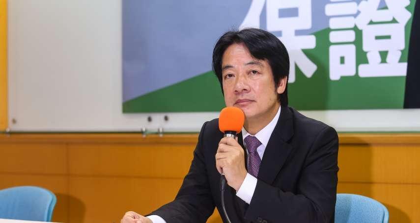 韓國瑜凱道誓師選總統 賴清德:說明是否贊成一國兩制,活動會更有意義