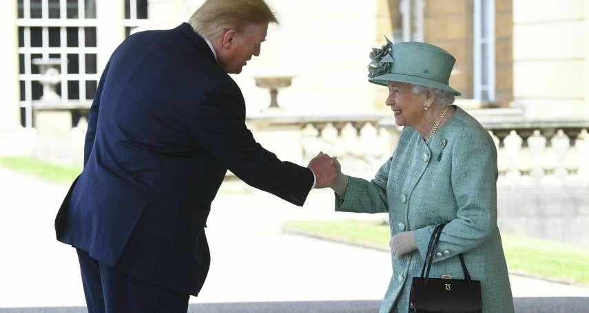 行程滿檔!美國總統川普二訪英國 參觀西敏寺、王儲共進下午茶 女王將設國宴招待