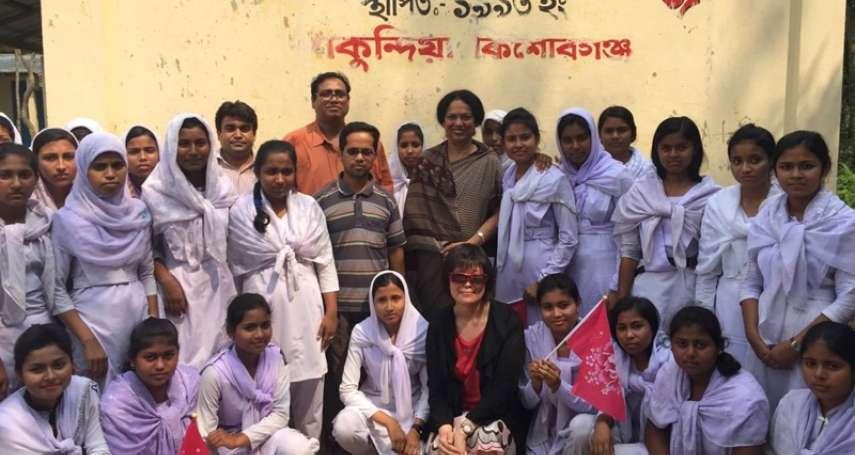 【謝幸吟專欄】就是不向不公義低頭!為孟加拉女性奔走的NUK創辦人—Mashuda