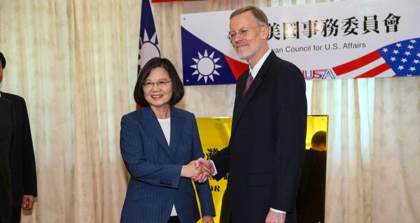 接見友台眾議員 蔡英文感謝美國持續合作、因應我斷交危機