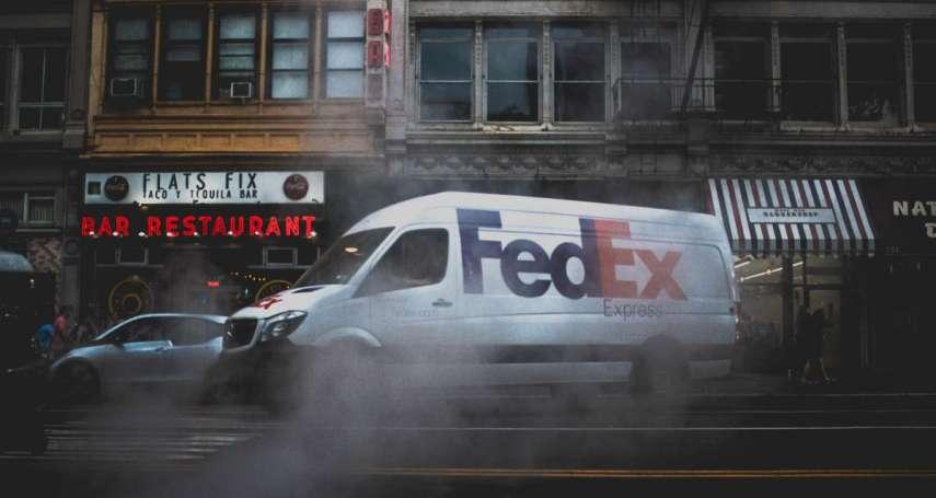 華為包裹錯送美國!Fedex股價崩盤,市值蒸發395億,可能名列中國「死亡筆記本」