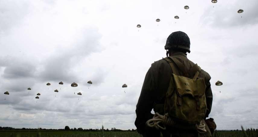 諾曼第大空降,75年後重演!重現當年英姿 九旬二戰老兵重回諾曼第跳傘