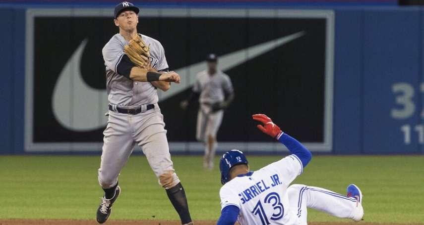 MLB》前國聯明星二壘手到洋基大復活 隊友桑其士叫他「打擊機器」