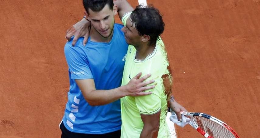 網球》連兩年法網決賽敗給納達爾 蒂姆:像從天堂掉到地獄