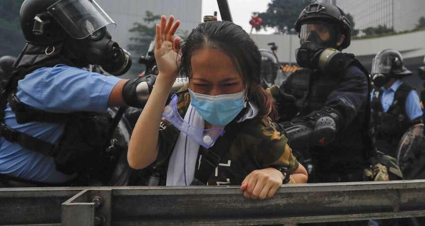 親北京政客大讚香港警察「節制」、「以他們為榮」...人權觀察嚴正呼籲港府「不應濫用武力」