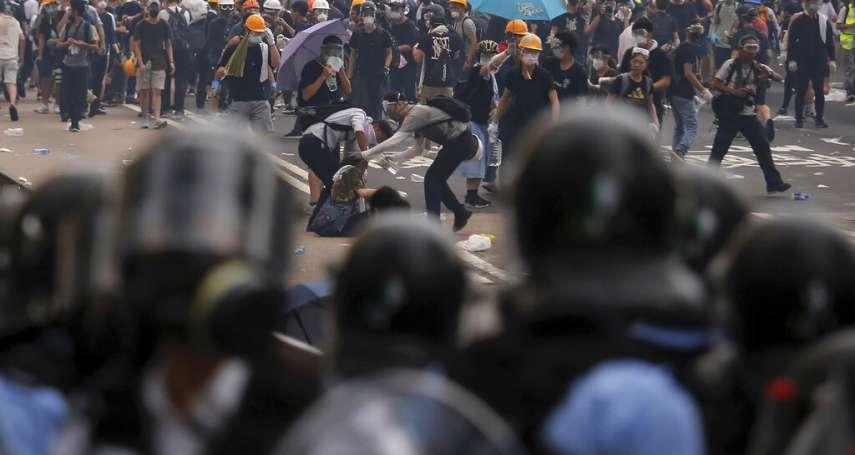 不認同港府暴力對待「反送中」 國民黨團籲蔡政府建立台港司法互助機制