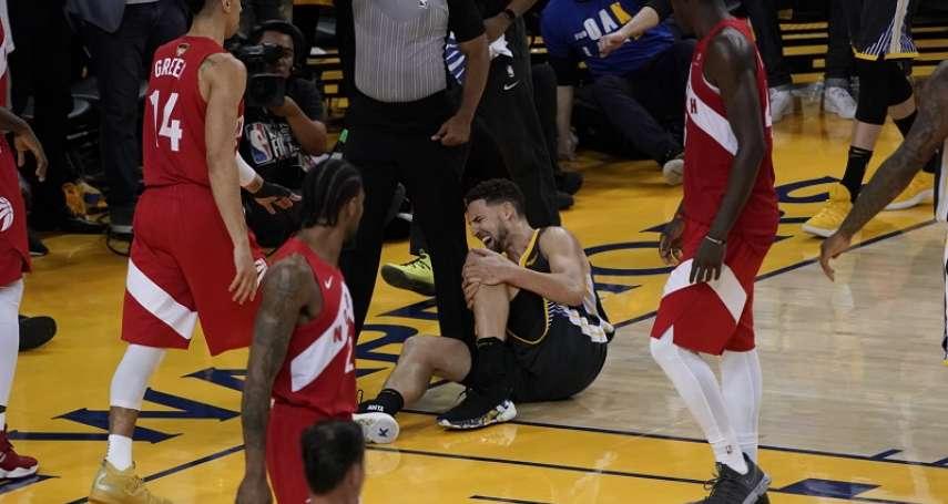 NBA冠軍戰》湯普森還想再拼 柯爾:他說休息兩分鐘就好