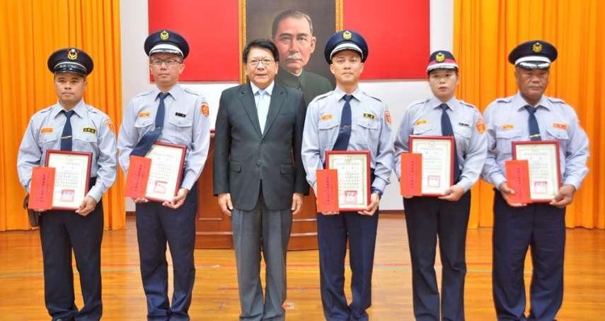 警察節慶祝大會 潘孟安表揚有功員警及協勤民力