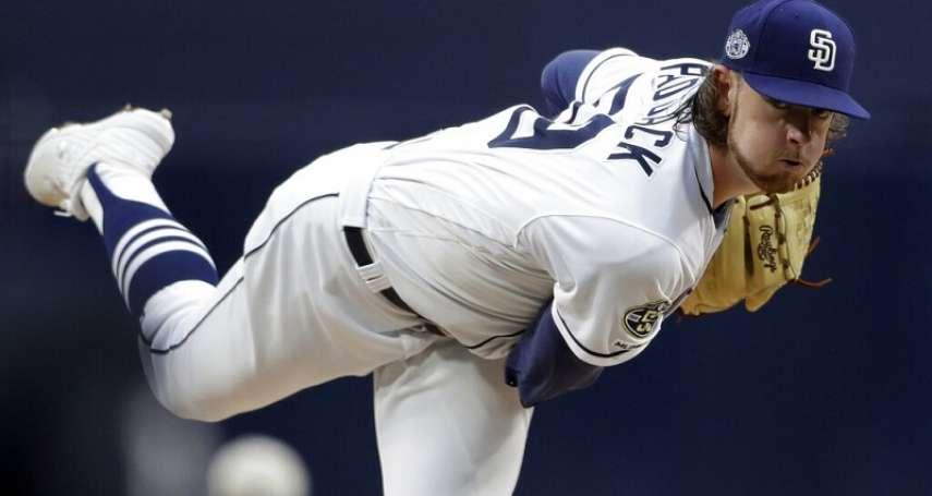 MLB》國聯新人王競爭者近況太差 教士將帕達克送至小聯盟調整