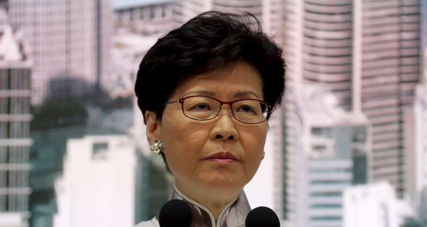 香港反送中》路透:特區政府處理拙劣,北京「極度懷疑」特首林鄭月娥的能力