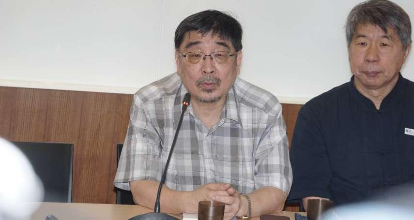 獨派震撼彈!喜樂島主席施正鋒宣布退黨 他親揭關鍵原因