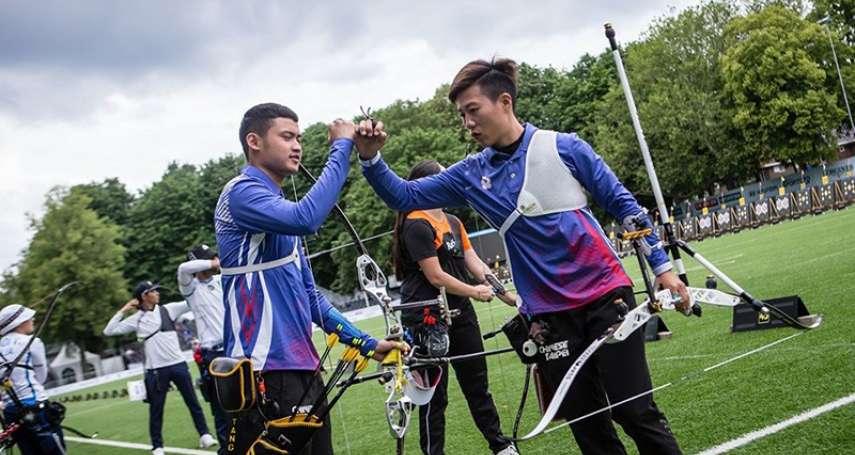 射箭》世錦賽締隊史最佳成績 林政賢:下一戰拚奧運