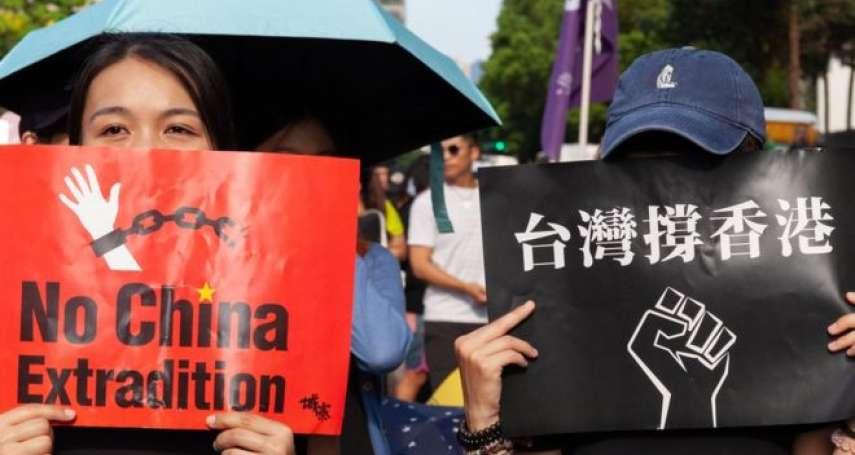 香港兩百萬人示威擋下「送中條例」,更加深台灣對中國的恐懼與不信任