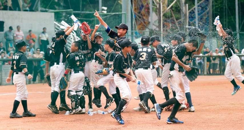 人才斷層有解 重返台灣棒球全盛時期不是夢