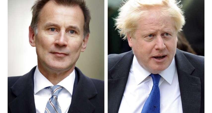 英國保守黨黨魁之爭》強森拒回應與女友大吵事件 對手杭特:想當首相就要能回應難題
