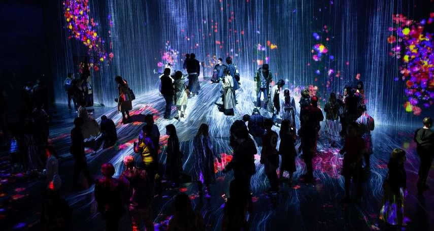 赴日旅遊別錯過!東京奇幻新景點,teamLab博物館開幕第一年,進場人次衝破兩百萬