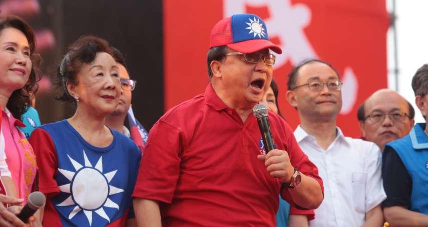 郭柯合衝擊國民黨選情 胡志強:爭取不到也只能面對現實