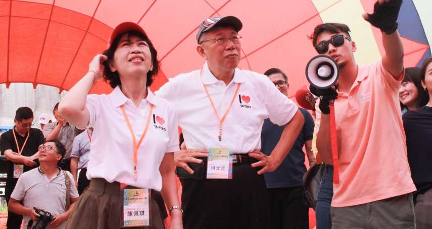 韓國瑜曾提用熱氣球解決雙北交通 柯文哲:開什麼玩笑,一張票1500你會買嗎?