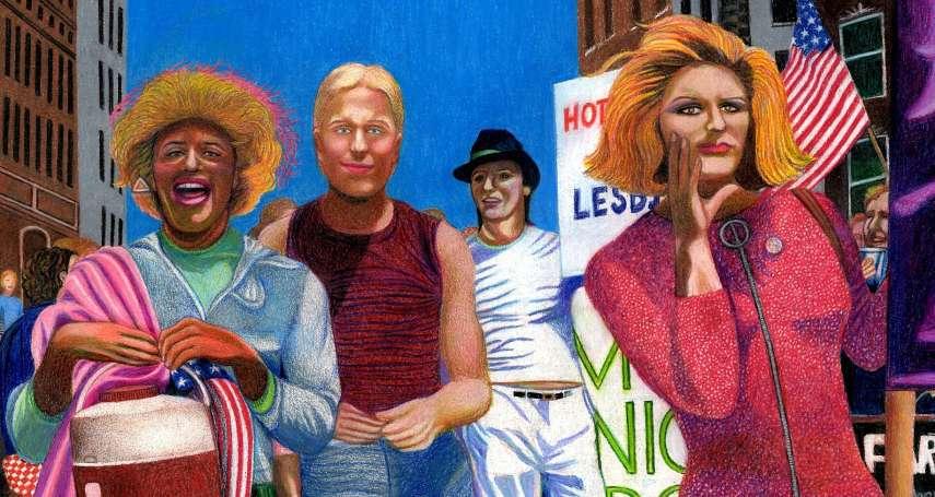 石牆事件50周年》看見跨性別:扮裝皇后帶頭衝撞恐同高牆,卻被世人遺忘 英雌身影半世紀後重現酒吧旁