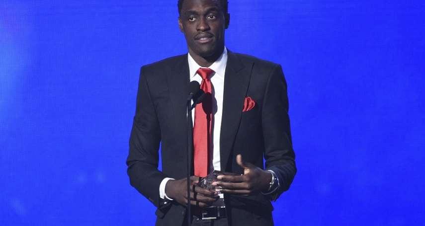 NBA》席亞康獲最佳進步獎 將獎項獻給天上的父親
