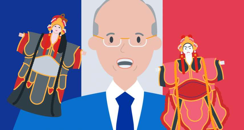 用布袋戲偶敲出外交空間,法國街道以他命名 前駐法代表呂慶龍:外交是專業也是藝術