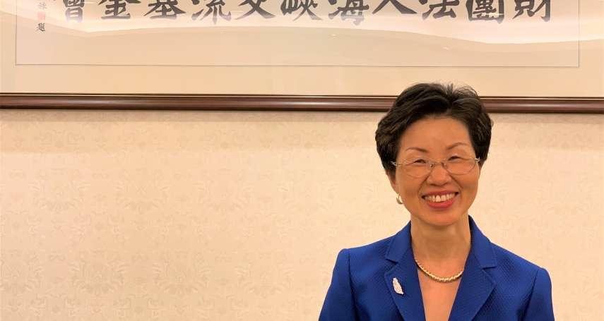 海基會董事長張小月屢創「女性第一」紀錄 駐英國成功向女王推銷台灣蘭花