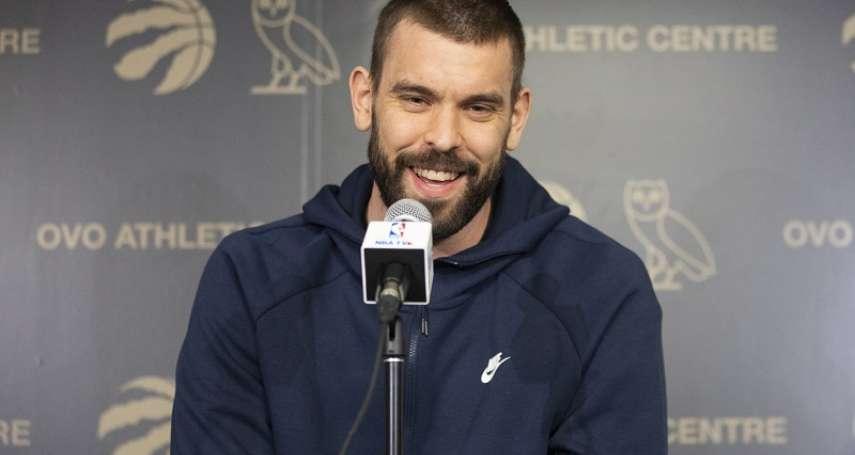 NBA》加索宣布執行球員選項 暴龍留住奪冠班底