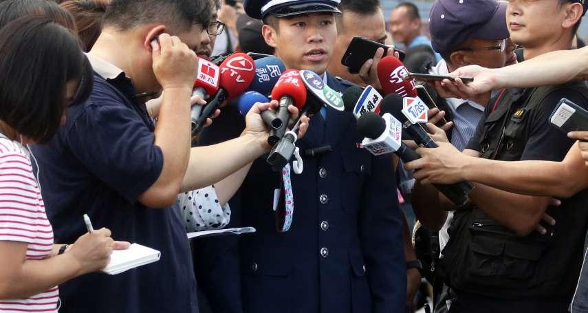 在美揮舞國旗 空軍官校劉欣學掛少尉階 矢志成為戰機飛官