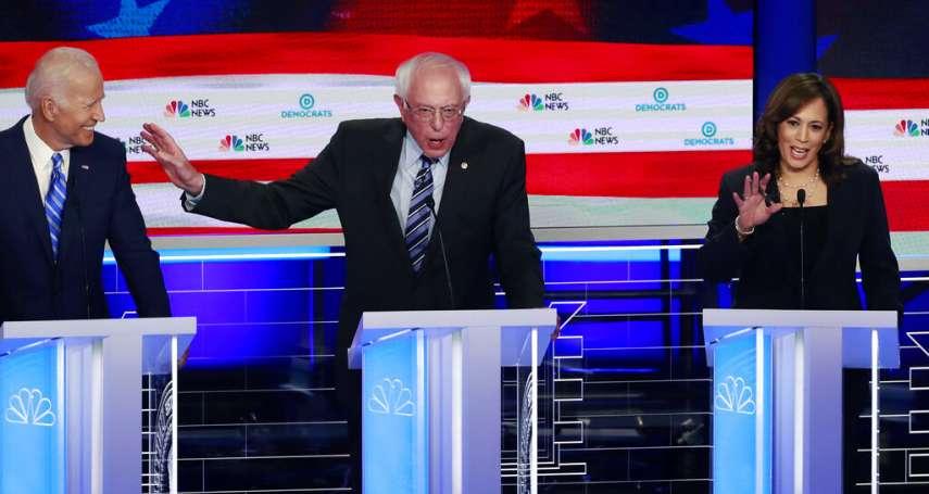 美國2020大選前哨戰》20人輪番上陣!民主黨初選首場辯論結束,誰是大贏家?