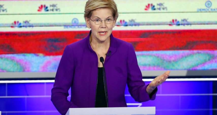 美國2020總統大選》民主黨首場辯論,3位女傑脫穎而出!學者:華倫、賀錦麗、NBC美女主播是贏家