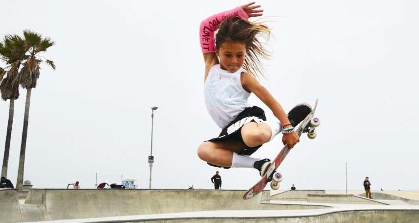 人小志氣高》「我10歲,我想參加奧運會!」 英日混血天才滑板少女勇闖2020東京奧運