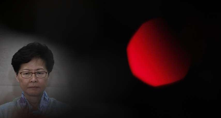 「送中法案已死!」林鄭月娥承認修法工作「完全失敗」,還是避提「撤回」