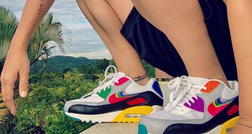 我從小找男生打球、常被調侃「幹嘛學男生耍帥」,直到有一天,我收到NIKE送來的彩虹鞋...