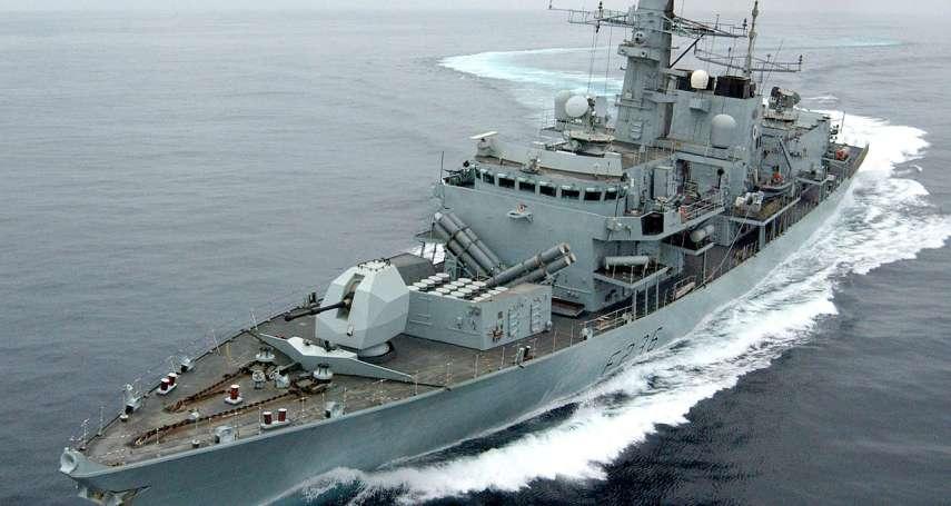 波斯灣風雲》踢到鐵板!伊朗革命衛隊企圖劫持英國油輪,英軍巡防艦強硬驅離