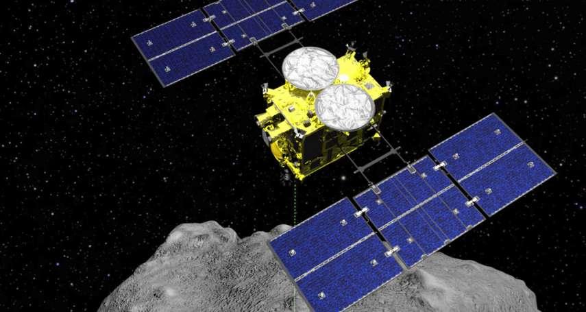 全球首例!日本隼鳥2號二訪小行星「龍宮」,帶回地下採集樣本